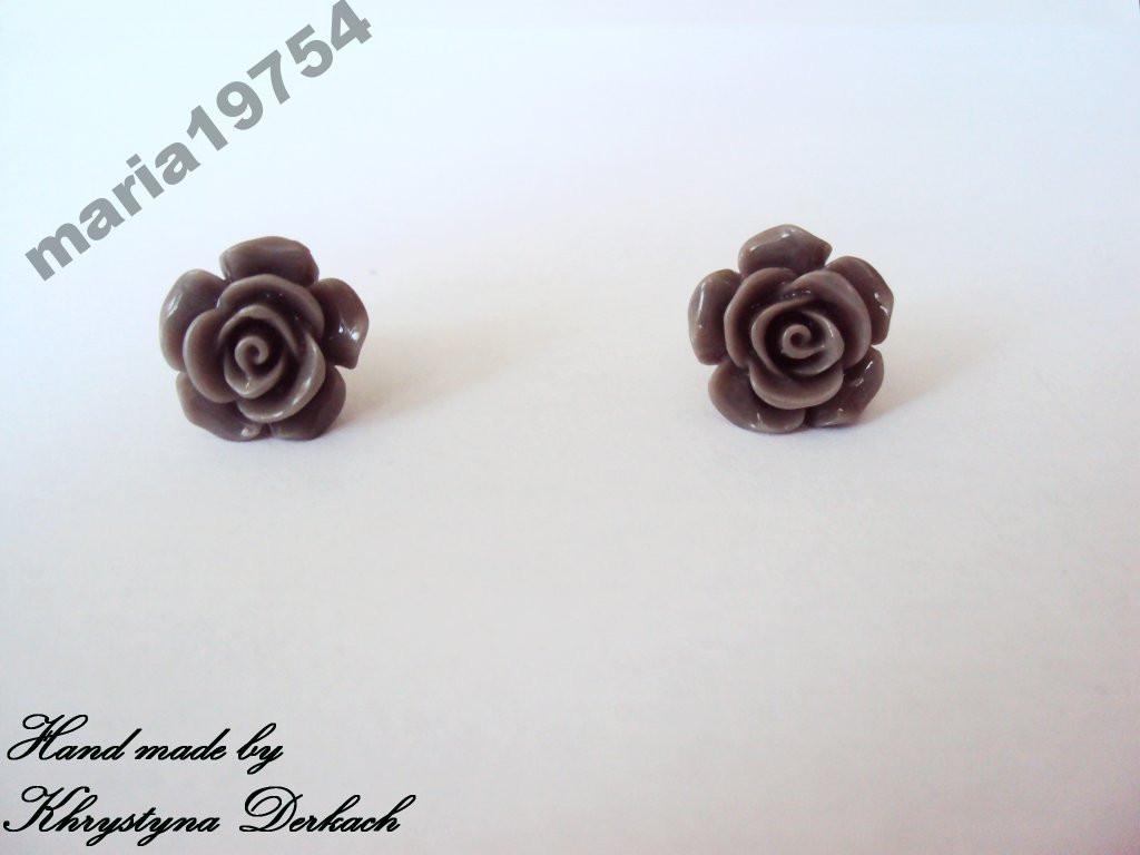 Серьги сережки цветок цветы ажур винтаж ХИТ