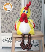 Мягкая игрушка Петушок, 50 см, (цветные крылья)