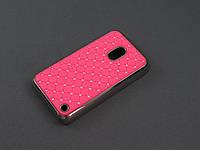Чехол Diamond для Nokia Lumia 620 розовый