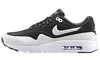 Mужские кроссовки Nike Air Max 87 Ultra Moire Чёрно-белые, фото 1