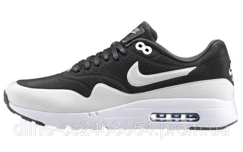 e8428eb74a6d Mужские кроссовки Nike Air Max 87 Ultra Moire Чёрно-белые - KROSIKI Обувной  интернет магазин