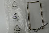 Рамка дисплея для iPhone 4G Black со скотчем