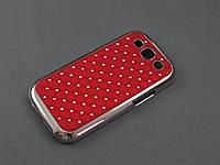 Чехол Diamond   для Samsung Galaxy S3 I9300i красный