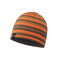 Шапка Buff Knitted & Polar Hat Stripes Fossil
