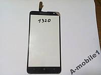 Сенсор Nokia 1320 Lumia черный orig
