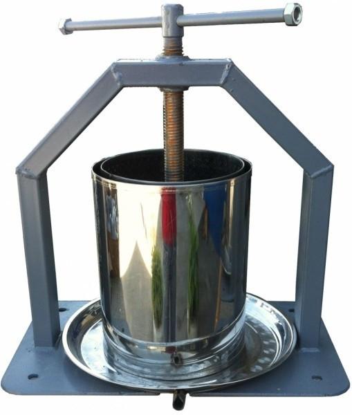 Ручной пресс Хлибпром для отжима сока 15л (Винница)