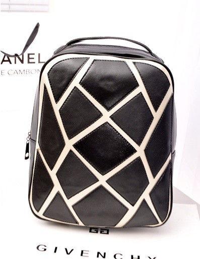 Рюкзак с рисунком кристаллов