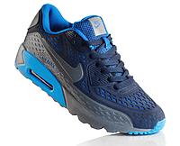 Mужские кроссовки Nike Air Max 90 Ultra BR Blue/Grey, фото 1