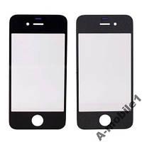 Стекло Apple iPhone 4G 4S black качество