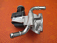 Клапан рециркуляции EGR новый Евро 5 для Citroen Jumper 2.2 HDi. 01.2006-. ЕГР. ЕЖР. Ситроен Джампер 2,2 ХДИ.