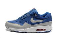 Mужские кроссовки Nike Air Max 87 Синий/Серый, фото 1