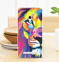 Чехол-накладка Print для Asus ZenFone 6 A600CG Colored lion