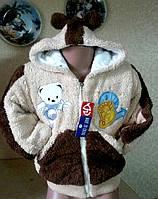 Куртка детская меховая для мальчиков и девочек