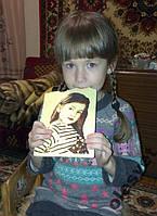 Сладкий портрет - шоколад - ручная работа !!!