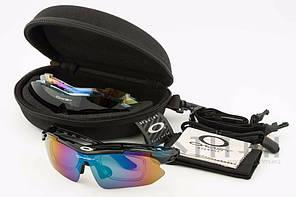 Очки тактические / Очки баллистические / очки спортивные с диоптрией Oakley Syper Sport 0089 Black