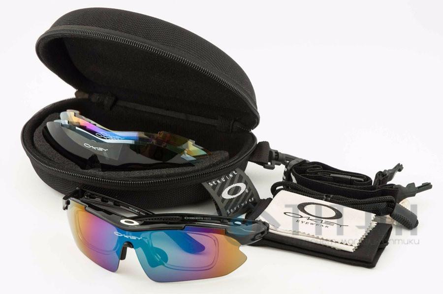Очки спортивные с диоптриями Oakley Syper Sport 0089 Black