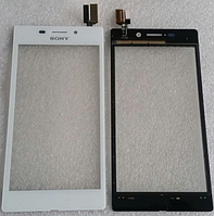 Оригинальный тачскрин / сенсор (сенсорное стекло) для Sony Xperia M2 Aqua D2403   D2406 (белый цвет)