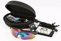 Очки Oakley с диоптриями 0089 Red, фото 1