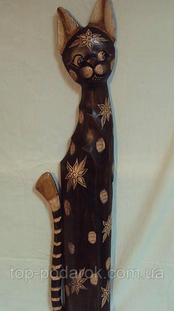Кошка деревянная высота 80 см
