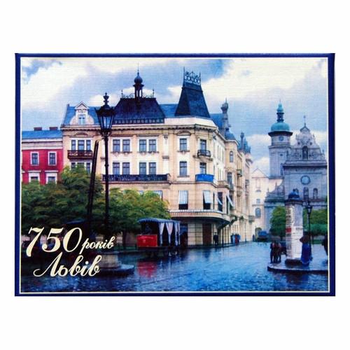 Комплект - игральные карты Piatnik Львов 750, 2 колоды по 55 листов