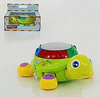 Музыкальная игрушка для малышей Черепаха