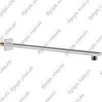 Кронштейн для верхнего душа Q-tap SHOWER ARM QT CRM - 0011