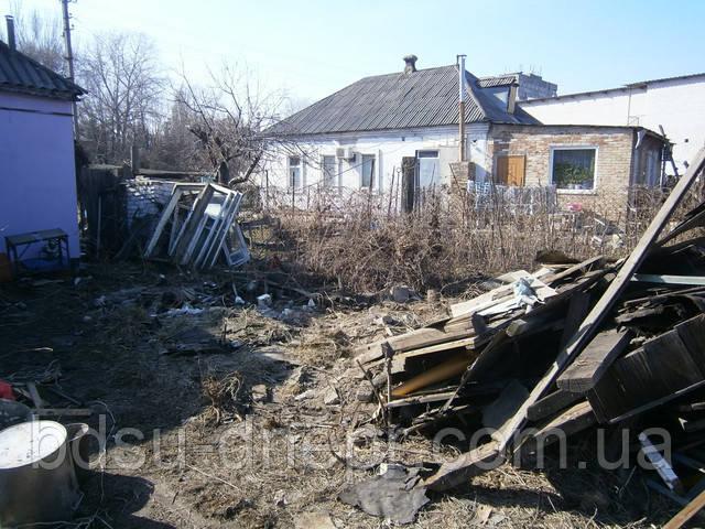 Разборка строения в Днепропетровске