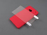 Чехол Nillkin с пленкой для HTC One M7 802w красный