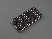 Чехол Diamond для HTC One V T320e черный