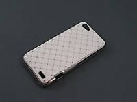 Чехол Diamond для HTC One V T320e белый