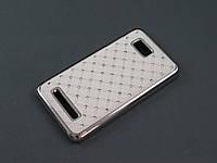 Чехол Diamond для HTC Desire 400 белый