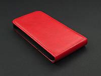 Чехол флип для HTC Desire 300 красный