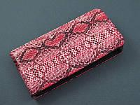 Чехол флип для Htc One 801e M7 розовый с принтом