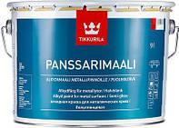 Краска Panssarimaali Tikkurila для оцинковки Панссаримали база С, 9л
