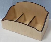 Подставка тройная для чайных пакетиков-2, 23х13см