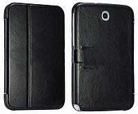 "Leather Flip Case TTX for Samsung Galaxy Note 8.0"" N5100/N5110 Black"