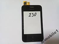 Сенсор Nokia 230 Asha Dual  с чипом SYNAPTICS orig