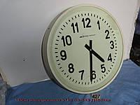 Часы электронные настенные ВЧС-1М2-43 Д450мм(белый пластмасссовый корпус, односторонние)