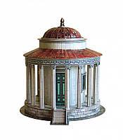 Картонная модель Храм Весты в Тиволи 339 УмБум