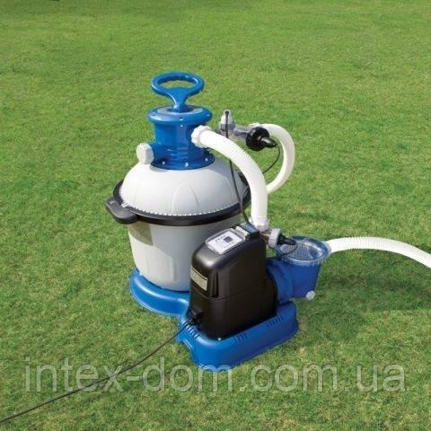 Хлоратор-песочный фильтр Intex Krystal Clear Combines (56682). Производительность: 10000 л/ч. киев