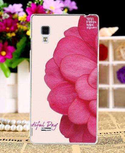 Оригинальный эксклюзивный чехол для LG L9 Optimus P760 P765 с картинкой Цветок