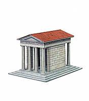 Картонная модель Храм Ники Аптерос 338 УмБум