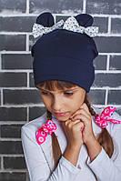 Шапка трикотажная для девочки , фото 1