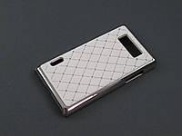 Чехол Diamond  для LG Optimus L7 P700 P705 белый