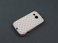 Чехол Diamond для HTC Desire C A320e белый