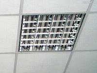 Установка люминесцентного светильника
