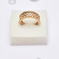 Золотое кольцо с цирконием 105833