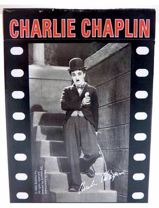 Карти игральные Piatnik Charlie Chaplin' Bridge, 55 листов, фото 2