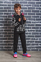 Спортивный костюм с капюшоном Буквы, фото 1