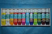 Набор акриловых красок 12 цв